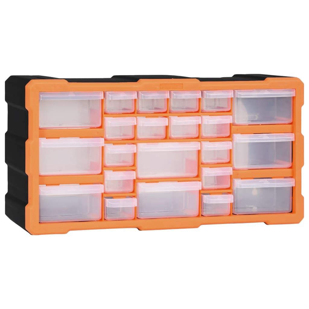 vidaXL Organizator cu 22 de sertare, 49 x 16 x 25,5 cm poza vidaxl.ro