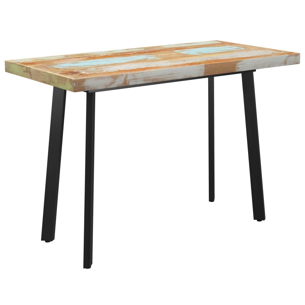 vidaXL Masă picioare în formă de V 120x60x77 cm lemn masiv reciclat poza 2021 vidaXL