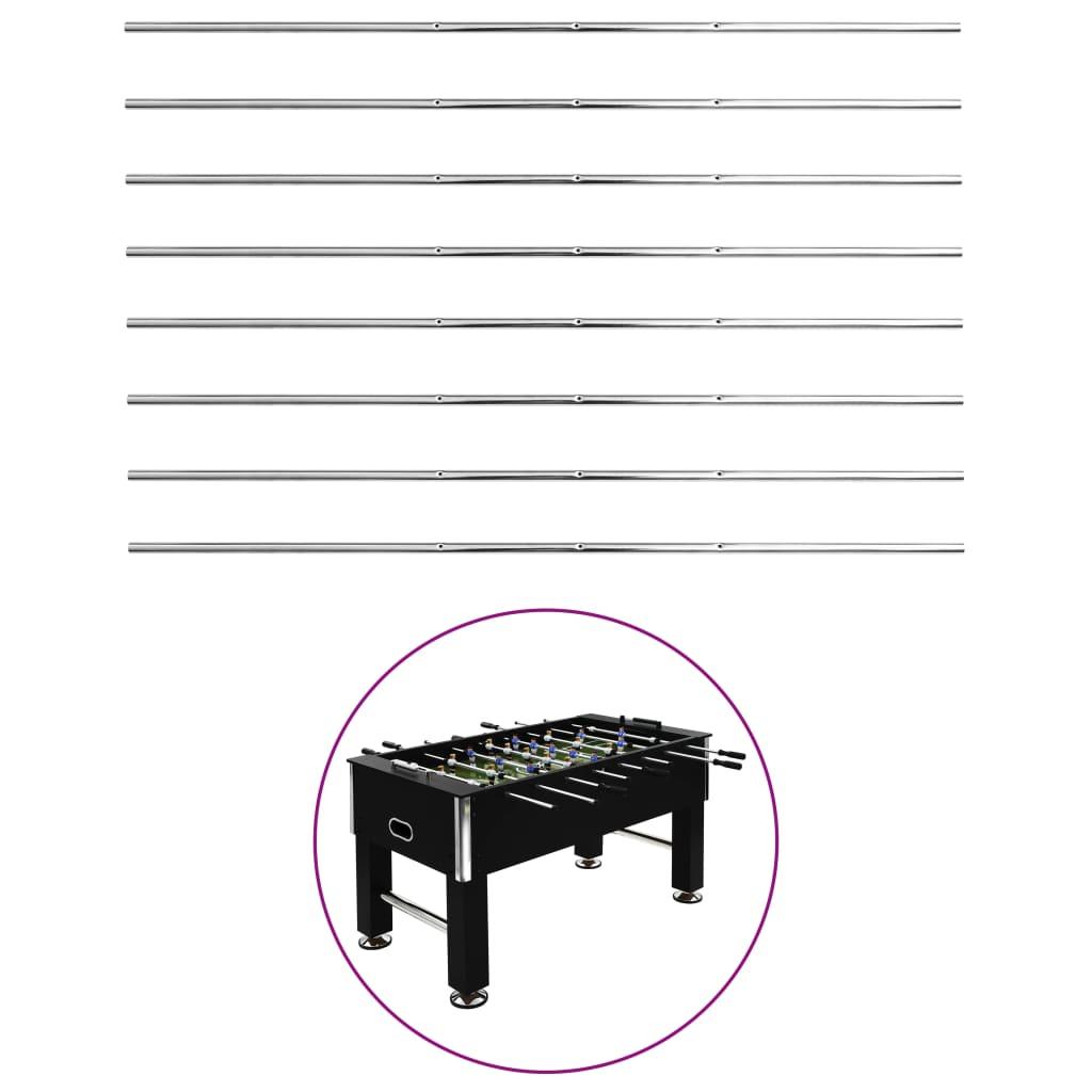 vidaXL Tyče pro stolní fotbal 8 ks 15,9 mm