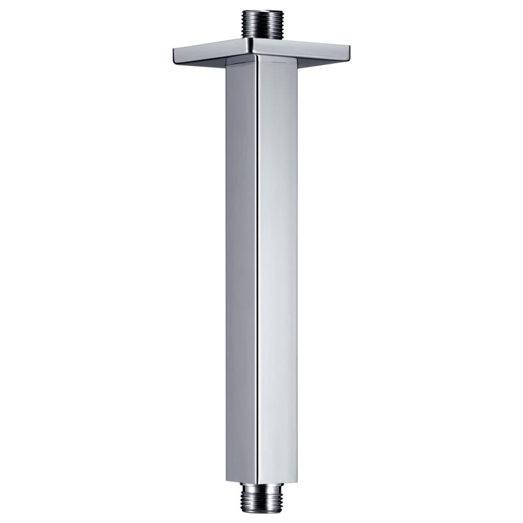 Podpůrné rameno do sprchy hranol nerez 201 stříbrné 20 cm