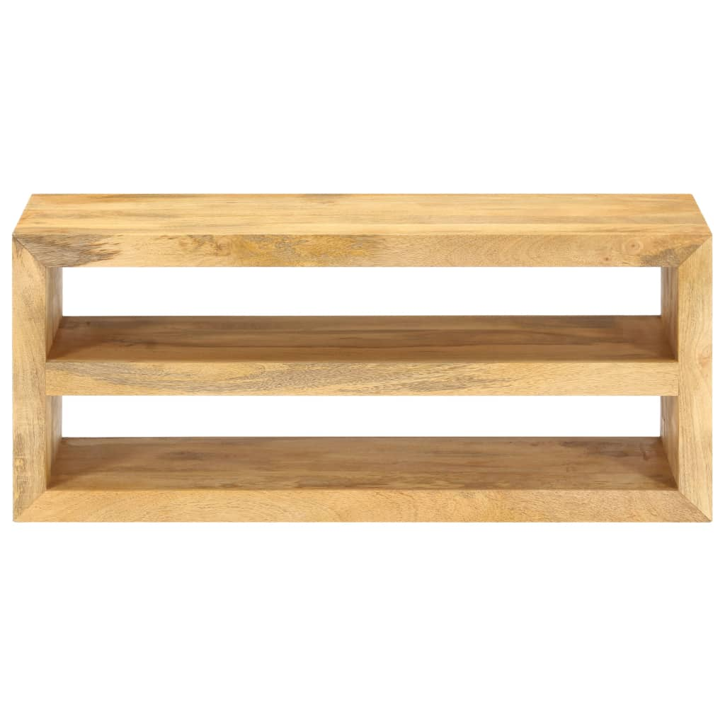 vidaXL Tv-meubel 107x35x45 cm massief mangohout