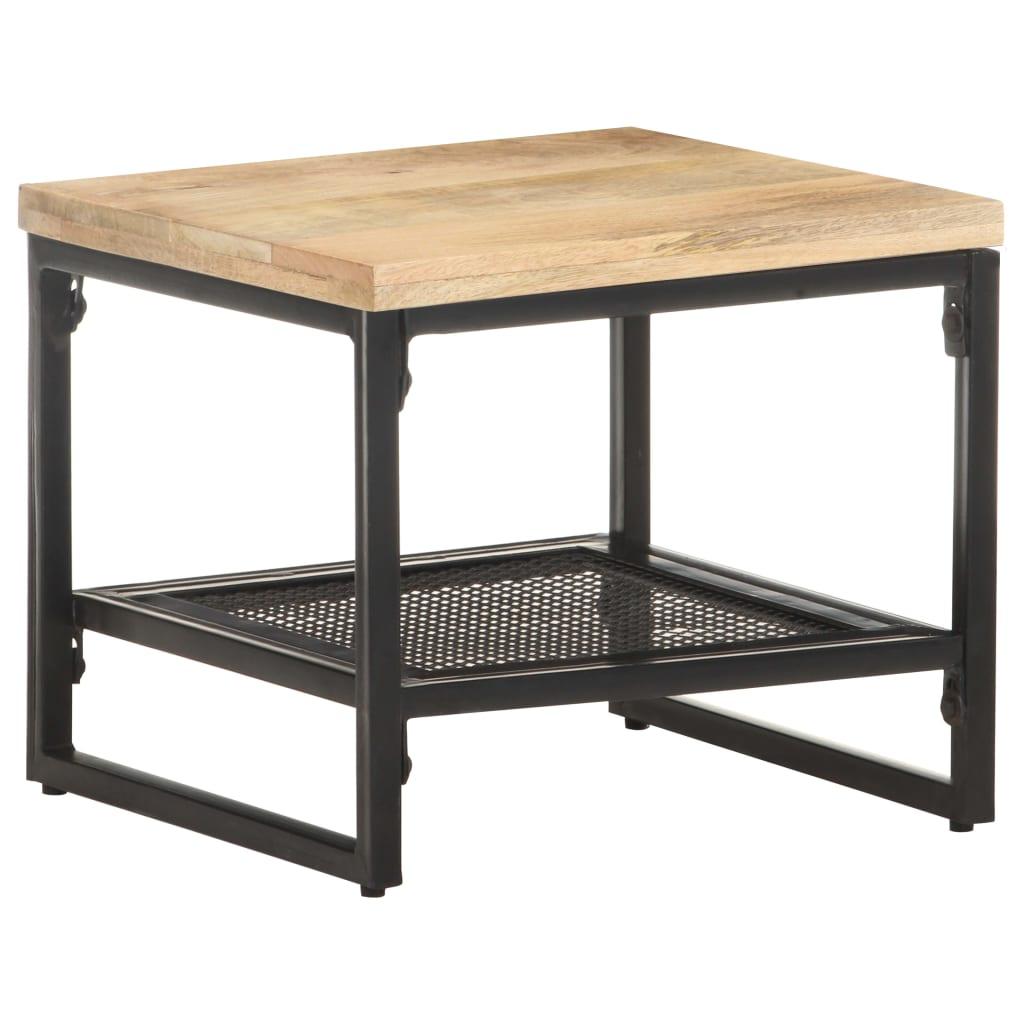 vidaXL Bočni stolić 40 x 40 x 35 cm od masivnog drva manga