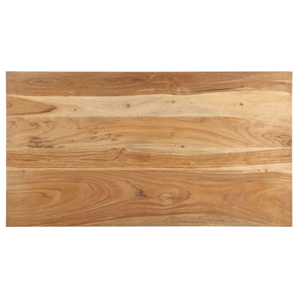 vidaXL Salontafel 110x60x35 cm massief acaciahout