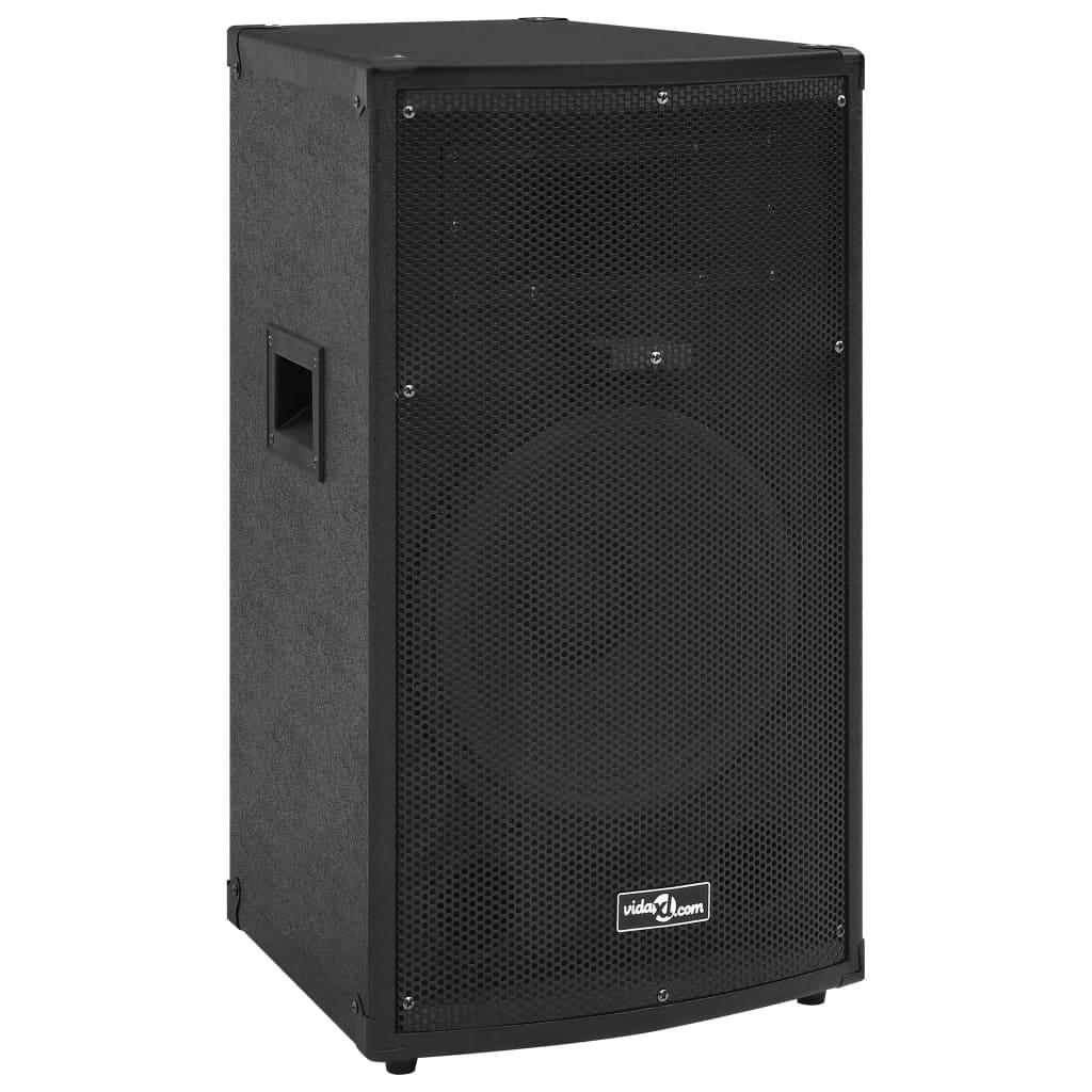 vidaXL Boxă Hifi de scenă profesională pasivă negru 32x32x64cm 1000 W vidaxl.ro