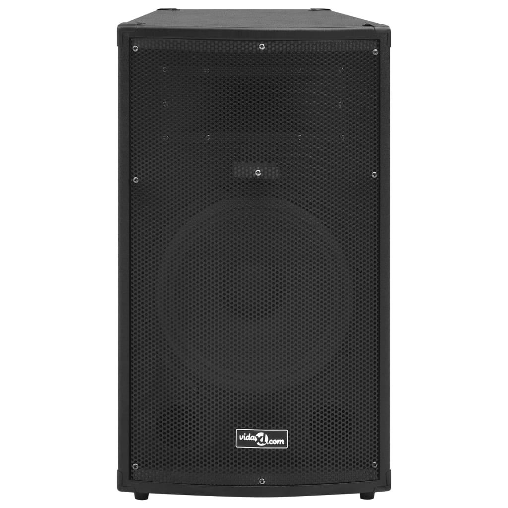 vidaXL Hifi-podiumluidspreker passief 1000 W 32x32x64 cm zwart