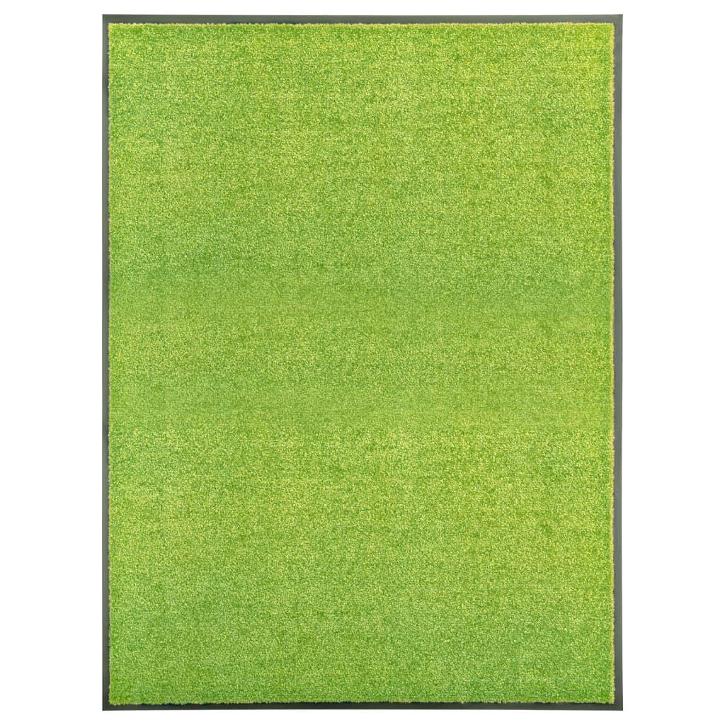 Uksematt pestav, roheline, 9..