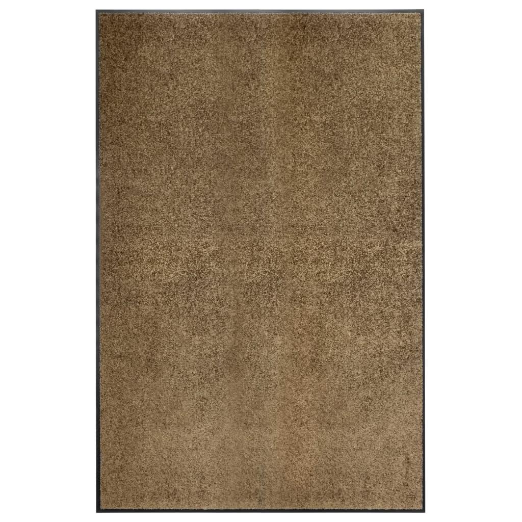 Fußmatte Waschbar Braun 120×180 cm