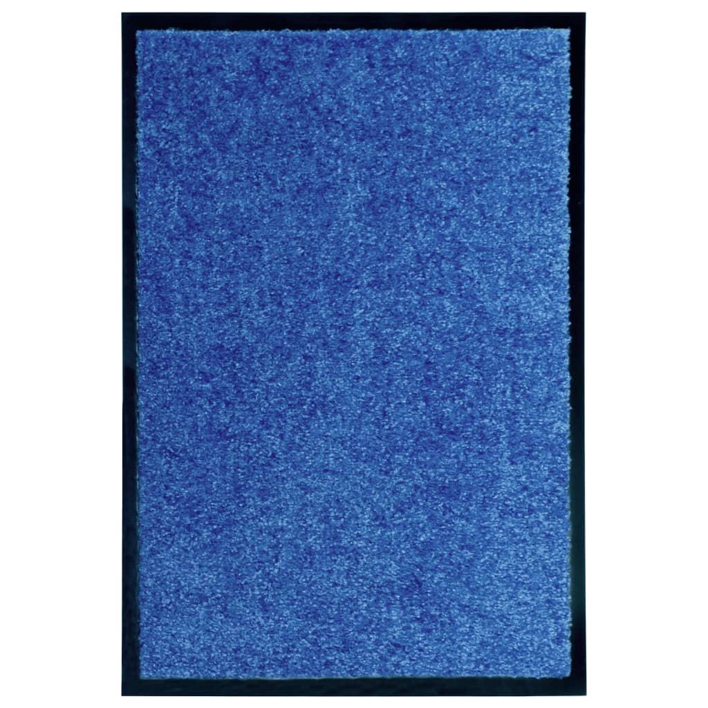 Fußmatte Waschbar Blau 40×60 cm