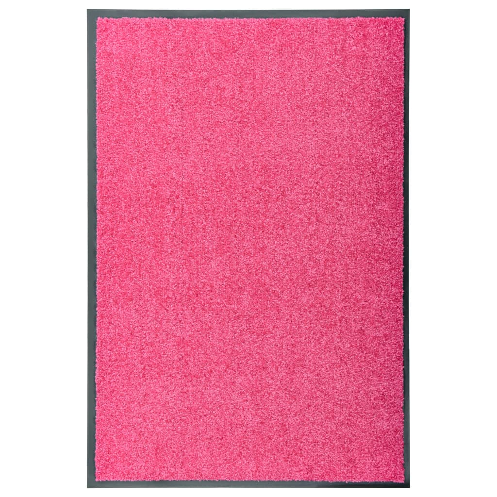 Fußmatte Waschbar Rosa 60×90 cm
