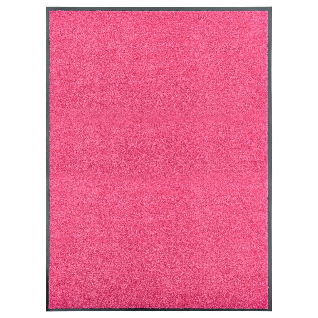 Uksematt pestav, roosa, 90 x..