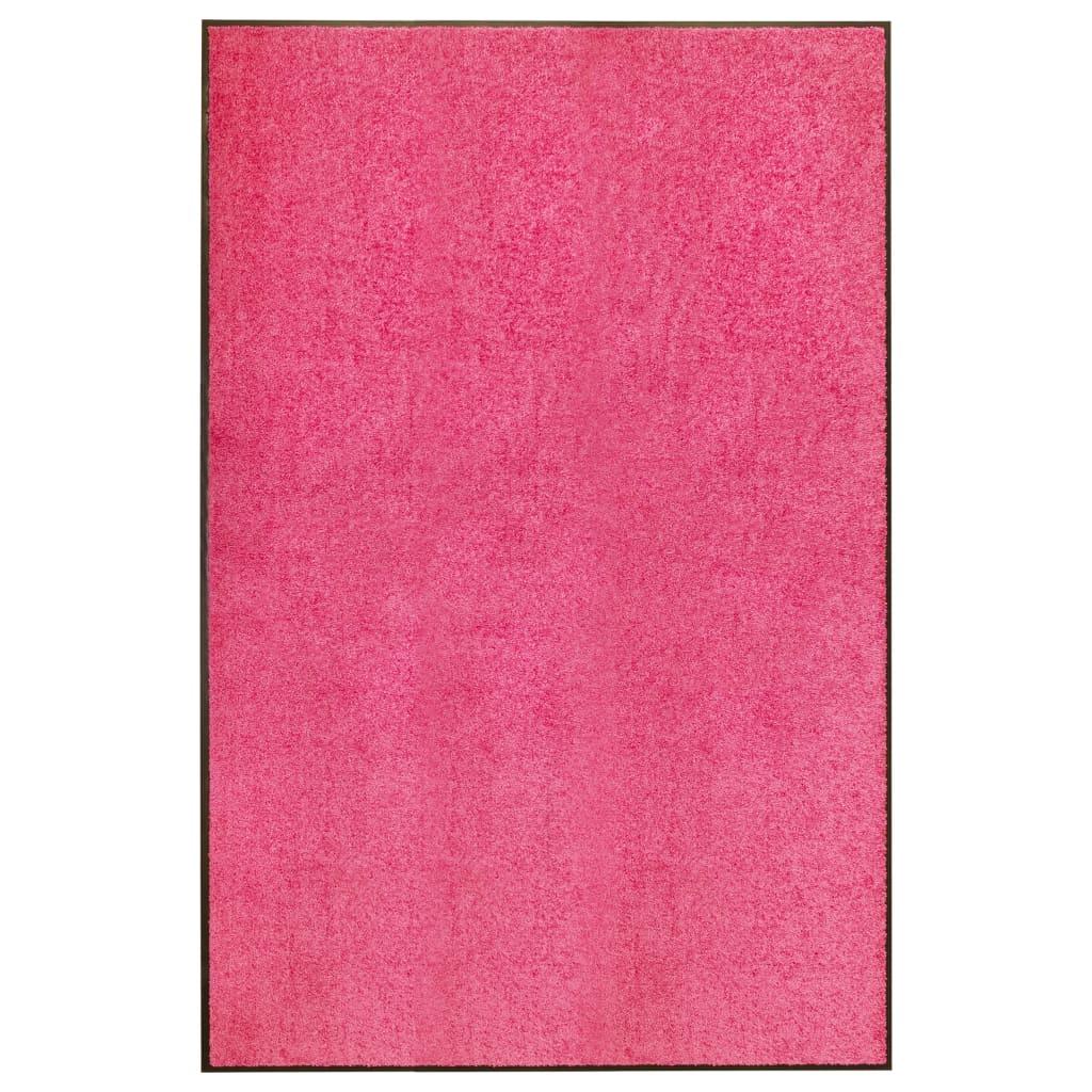 vidaXL Covoraș de ușă lavabil, roz, 120 x 180 cm vidaxl.ro