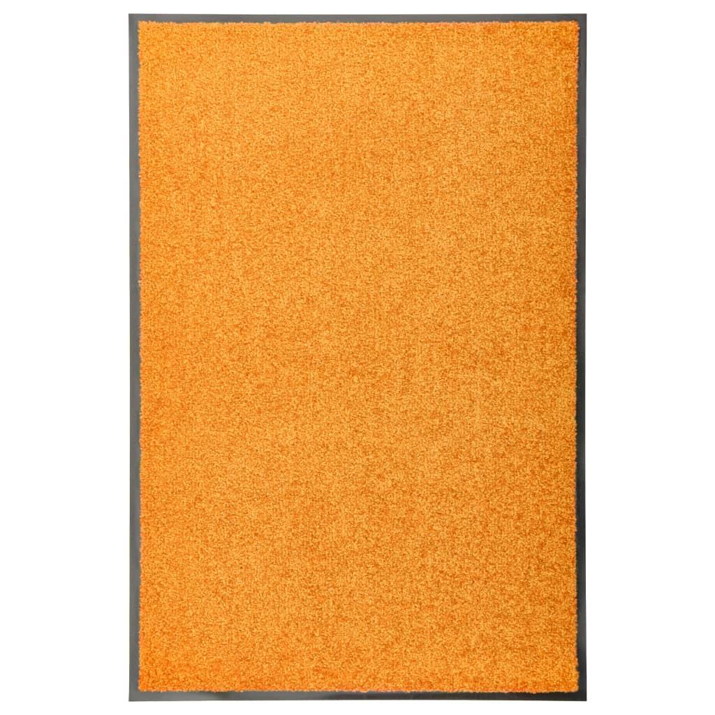 Fußmatte Waschbar Orange 60×90 cm