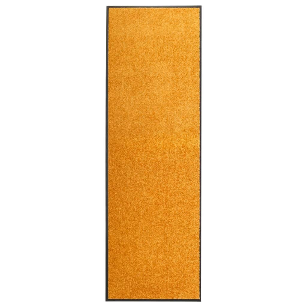 Fußmatte Waschbar Orange 60×180 cm