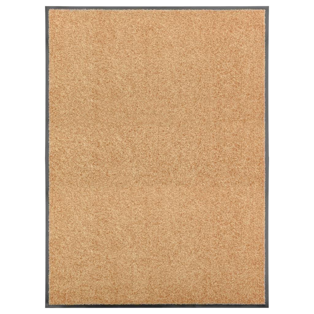 Fußmatte Waschbar Creme 90×120 cm