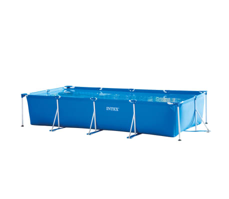 Intex Piscine Rectangular Frame 450x220x84 cm 28273NP