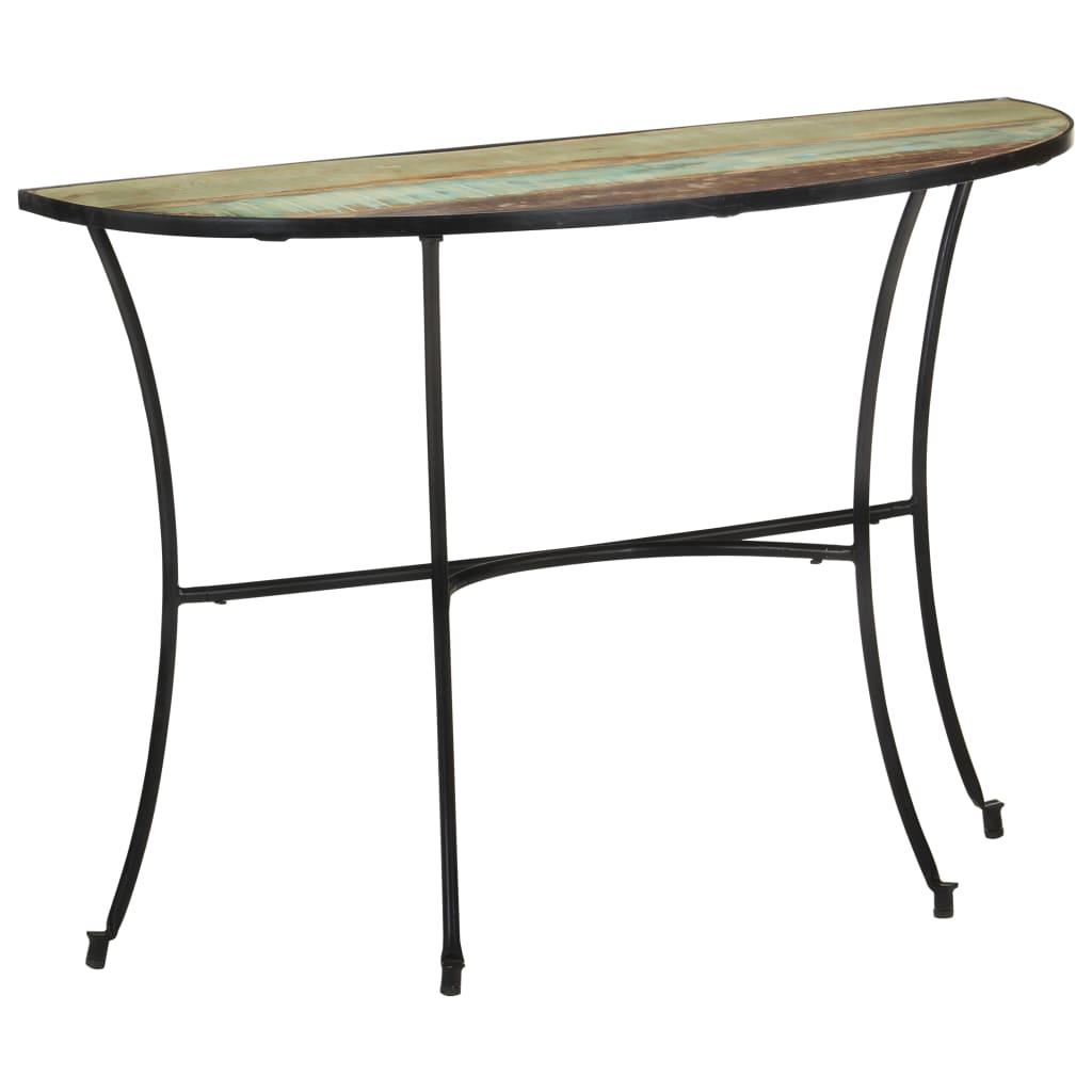 vidaXL Bočni stolić 110 x 40 x 77 cm od masivnog obnovljenog drva