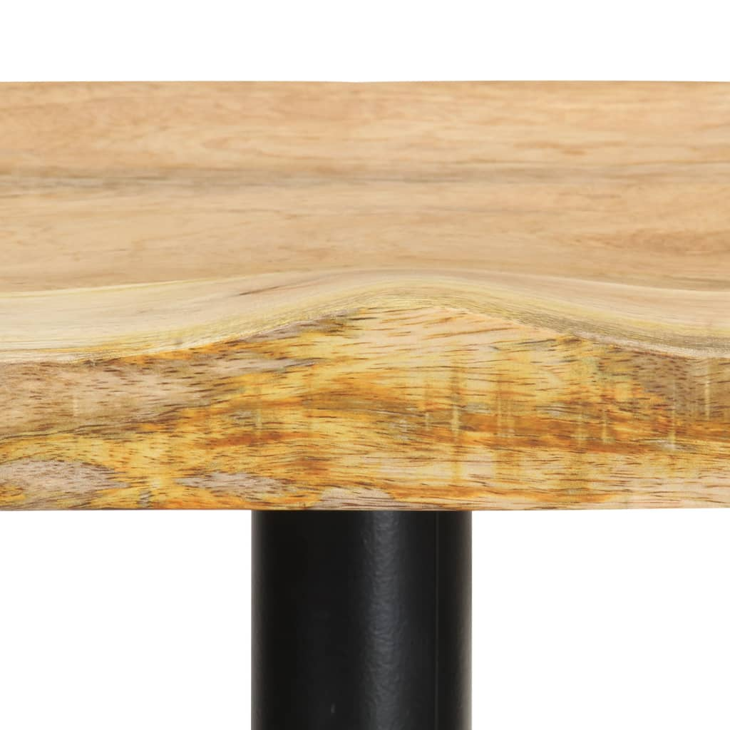 vidaXL Barkrukken 2 st 52 cm massief mangohout