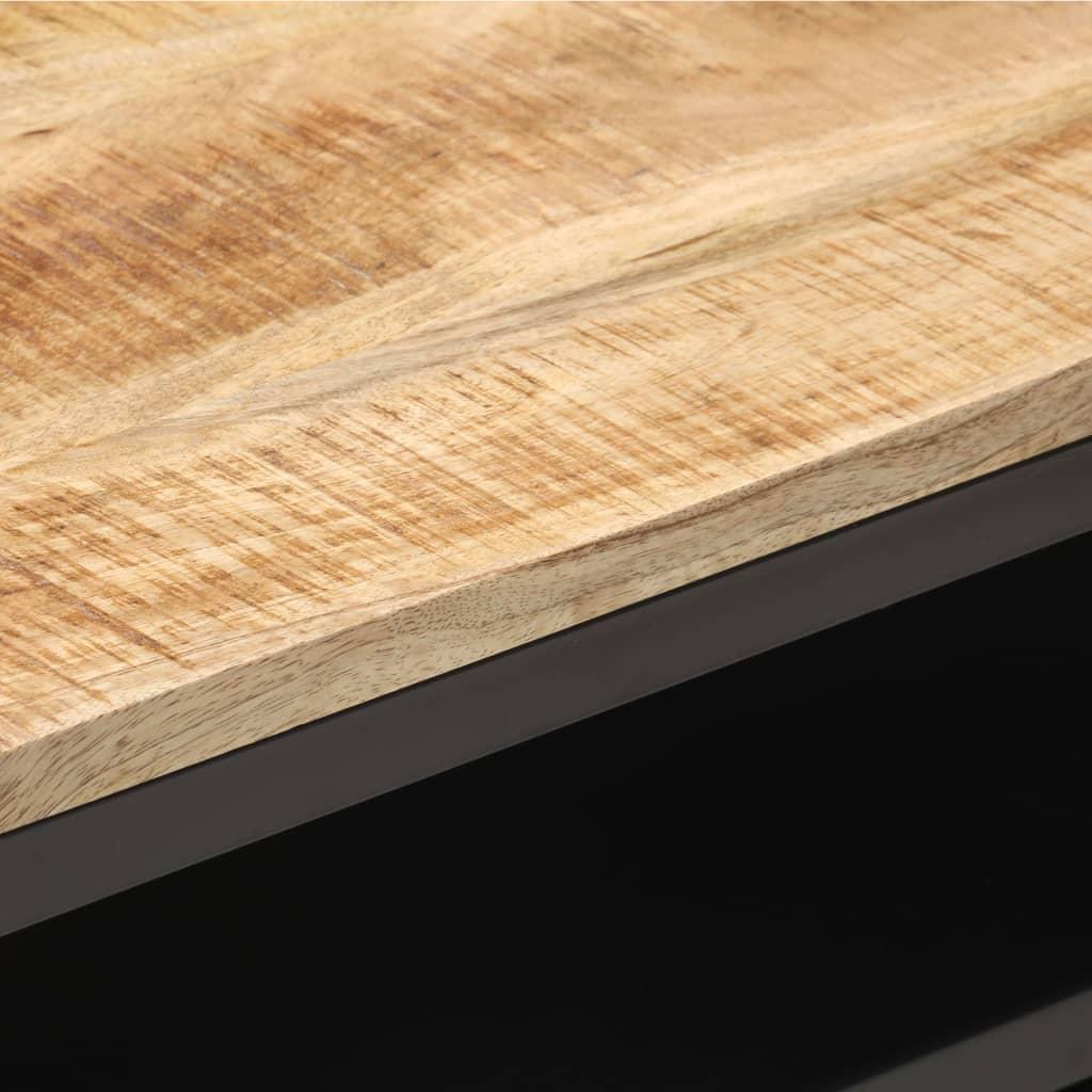 vidaXL Tv-meubel 120x30x40 cm massief ruw mangohout