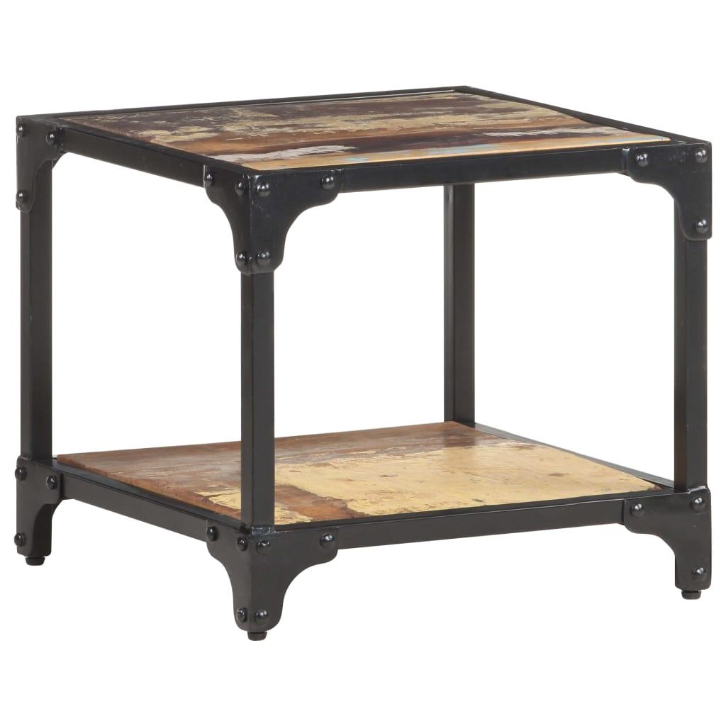 Konferenční stolek 40 x 40 x 36 cm masivní recyklované dřevo