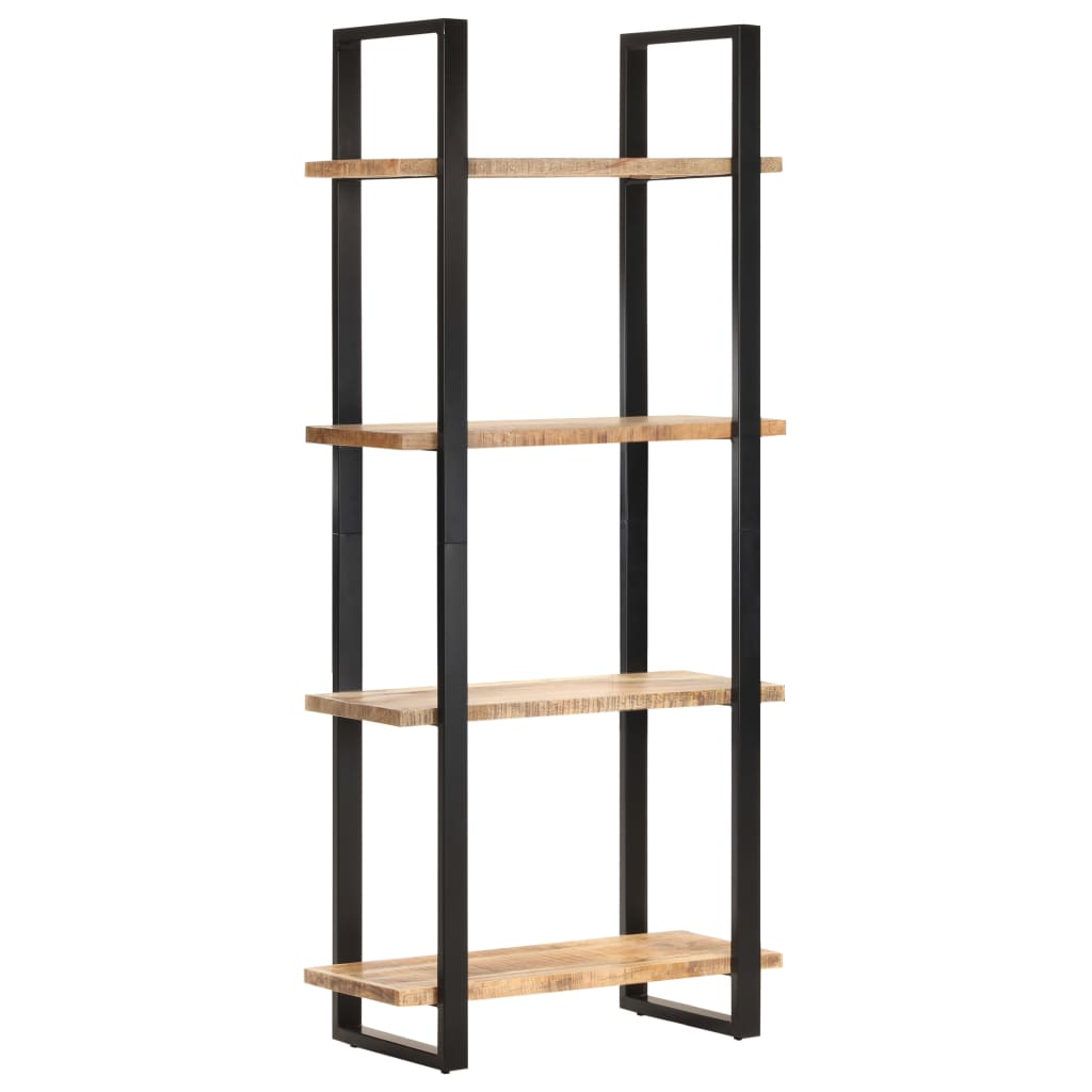 vidaXL Bibliotecă cu 4 rafturi, 80x40x180 cm, lemn de mango nefinisat poza vidaxl.ro