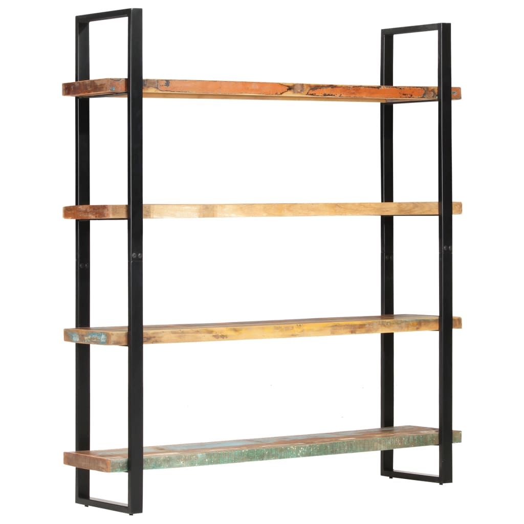 vidaXL Bibliotecă cu 4 rafturi, 160 x 40 x 180 cm, lemn masiv reciclat vidaxl.ro