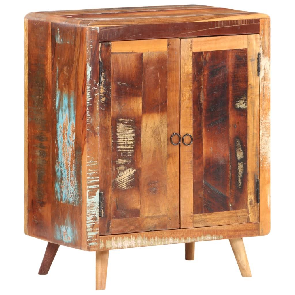 vidaXL Servantă, 60 x 35 x 76 cm, lemn masiv reciclat poza vidaxl.ro