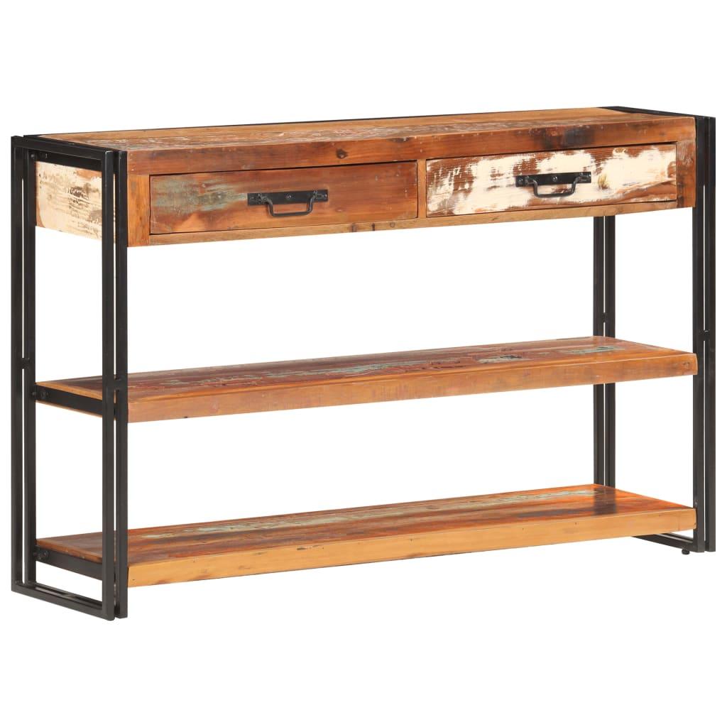 vidaXL Dressoir 120x30x75 cm massief gerecycled hout