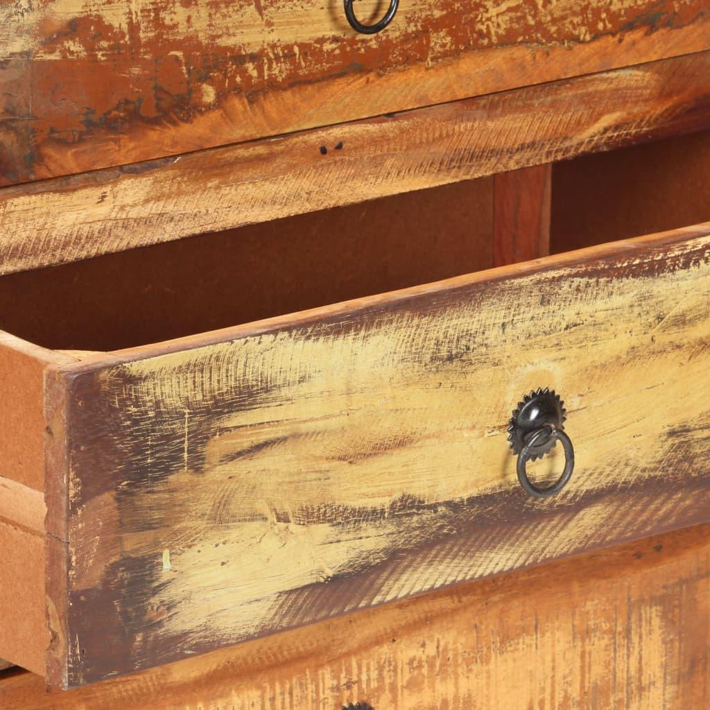vidaXL Dressoir 60x35x75 cm massief gerecycled hout