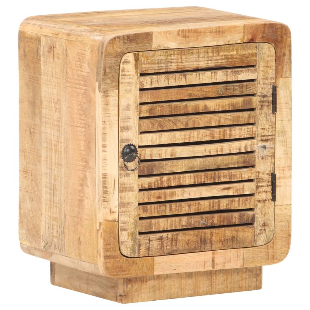 vidaXL Noptieră, 40 x 30 x 50 cm, lemn de mango nefinisat poza 2021 vidaXL