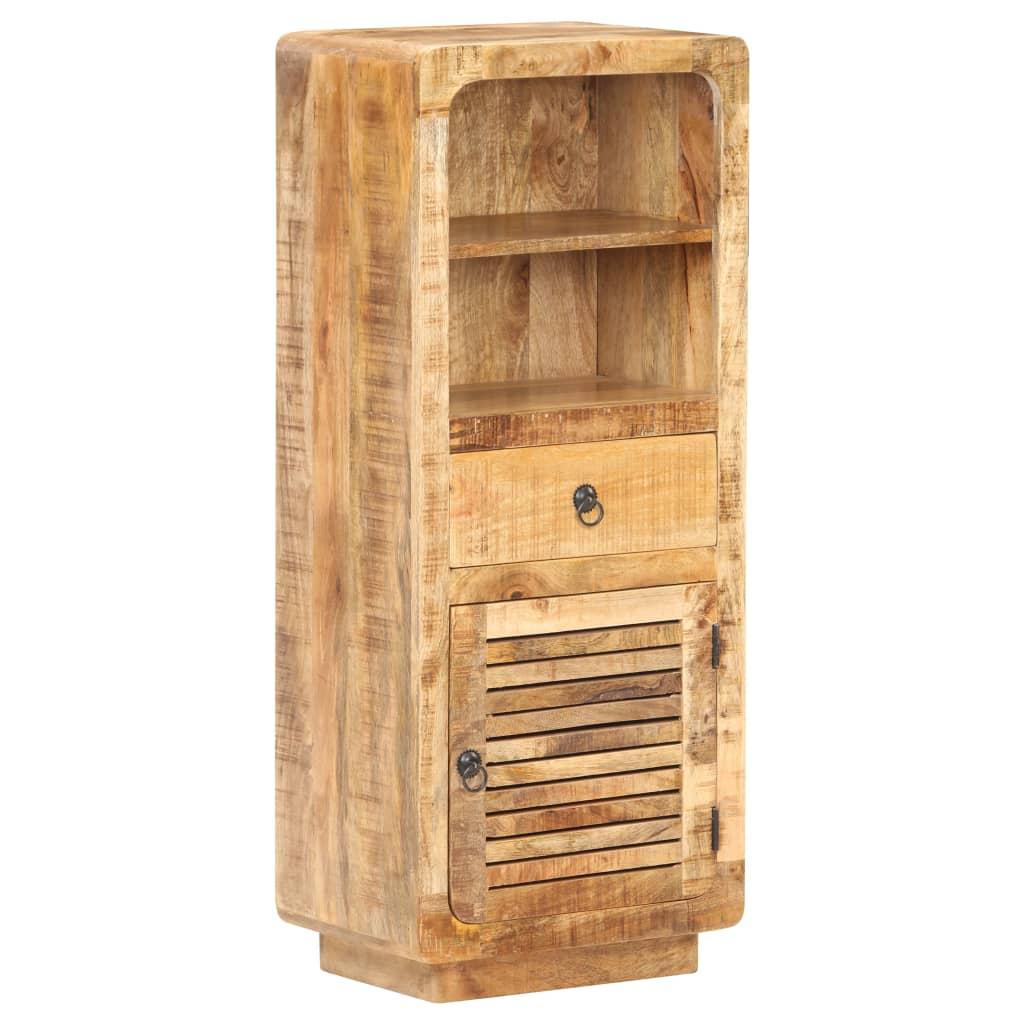 vidaXL Dulap înalt, 45 x 32 x 110 cm, lemn de mango nefinisat vidaxl.ro