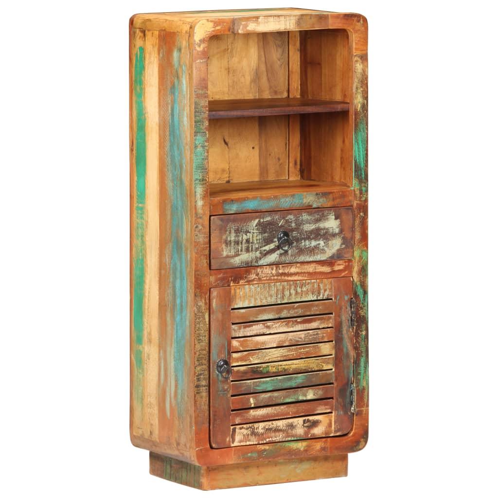 Komoda 45 x 32 x 110 cm masivní recyklované dřevo