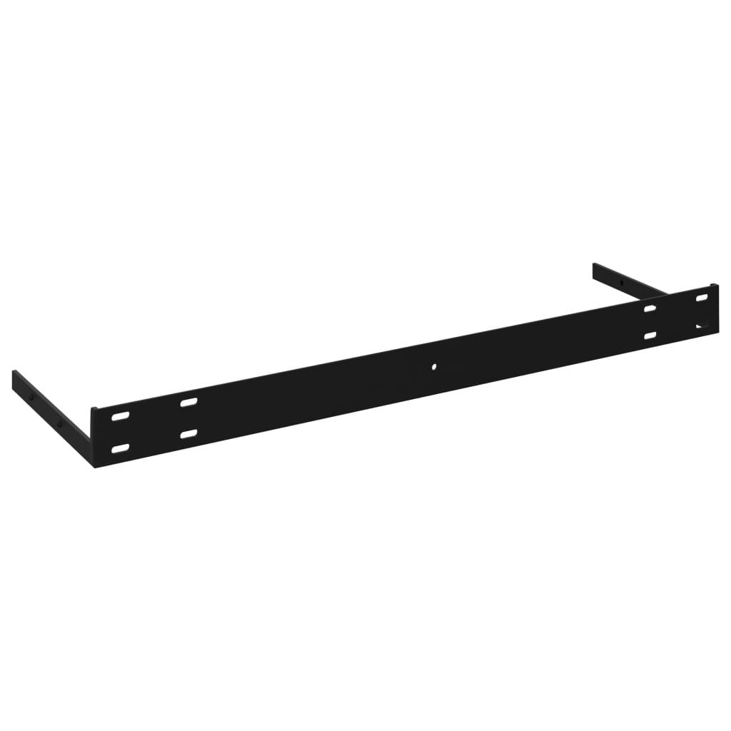 vidaXL Wandschappen zwevend 2 st 120x23,5x3,8 cm MDF hoogglans wit
