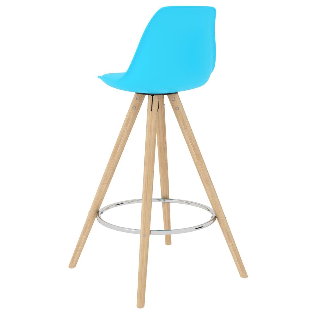 vidaXL 5-delige Barset blauw