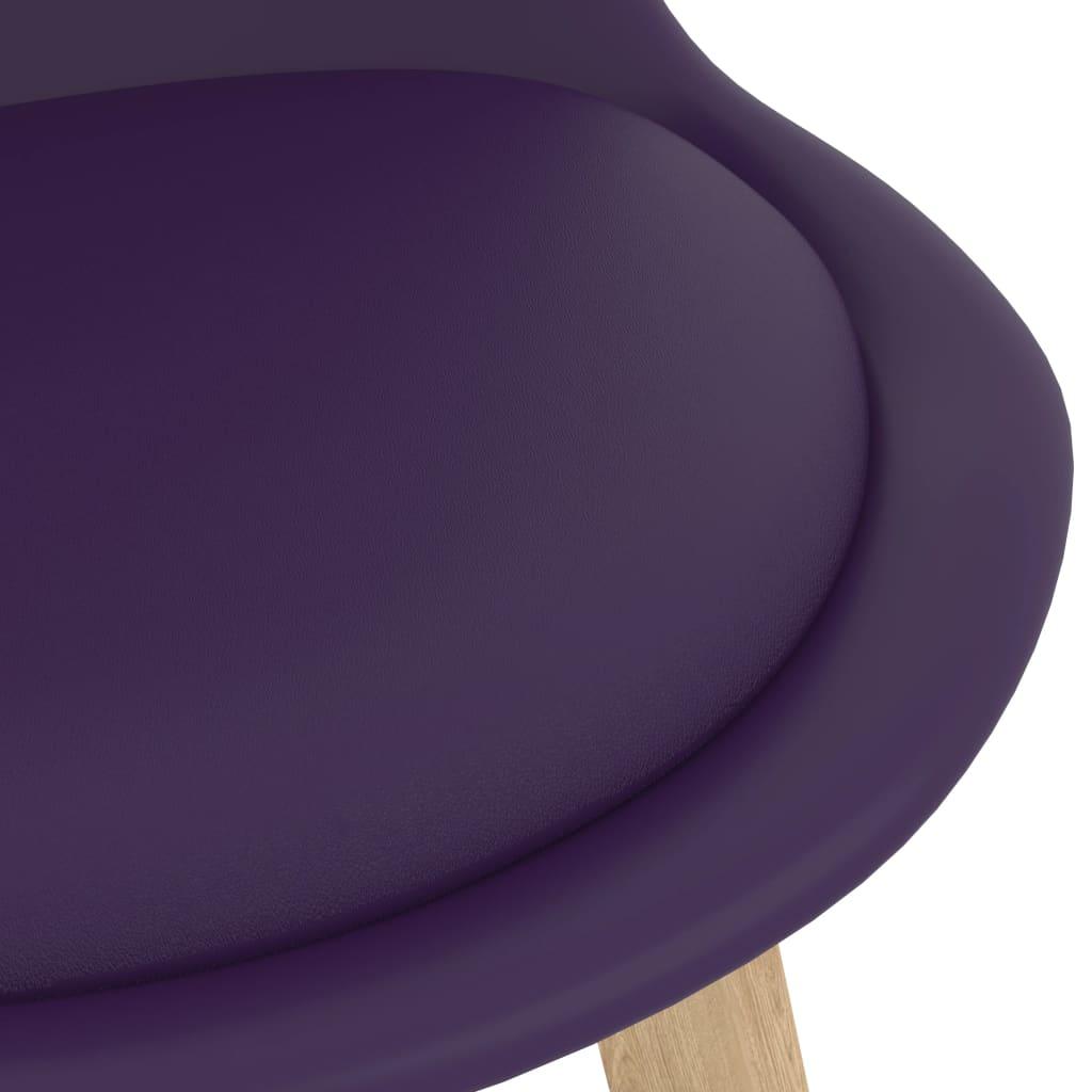 vidaXL 7-delige Barset paars
