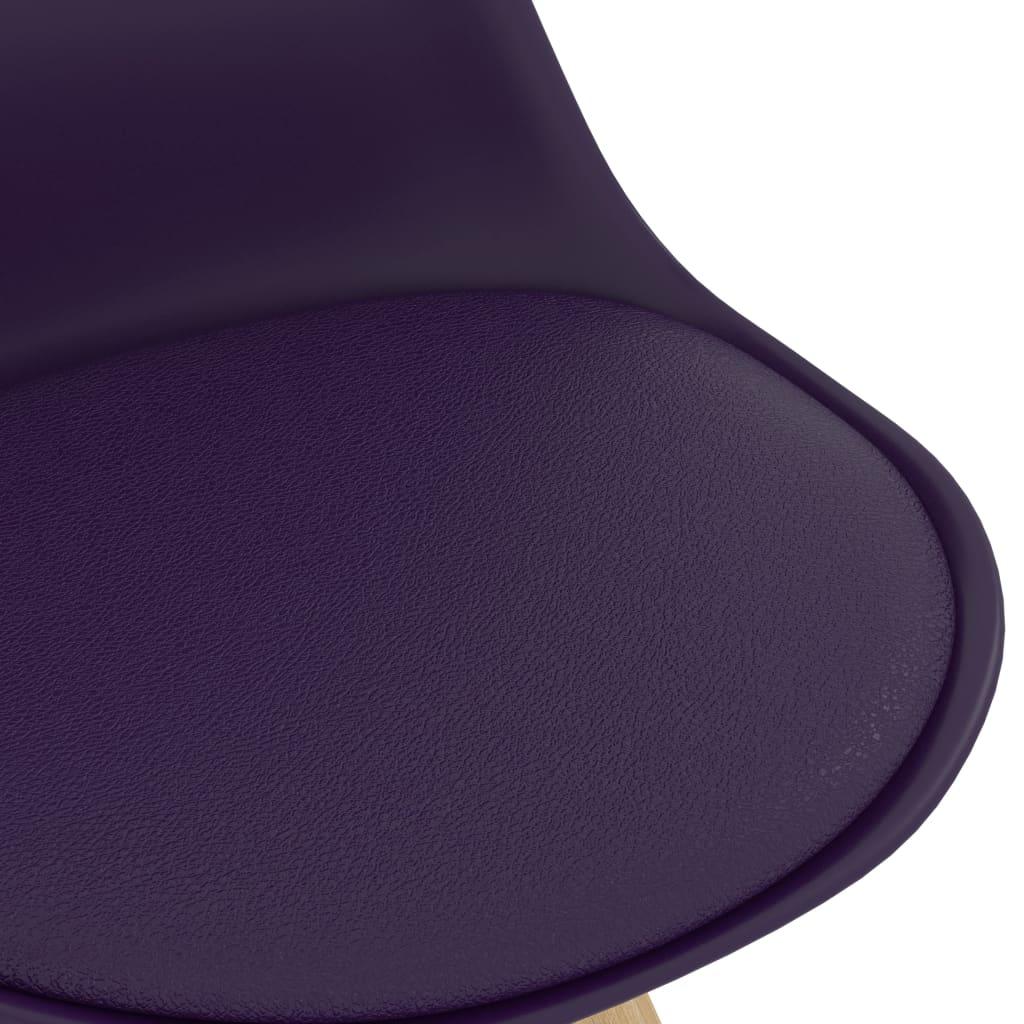 vidaXL 3-delige Barset paars