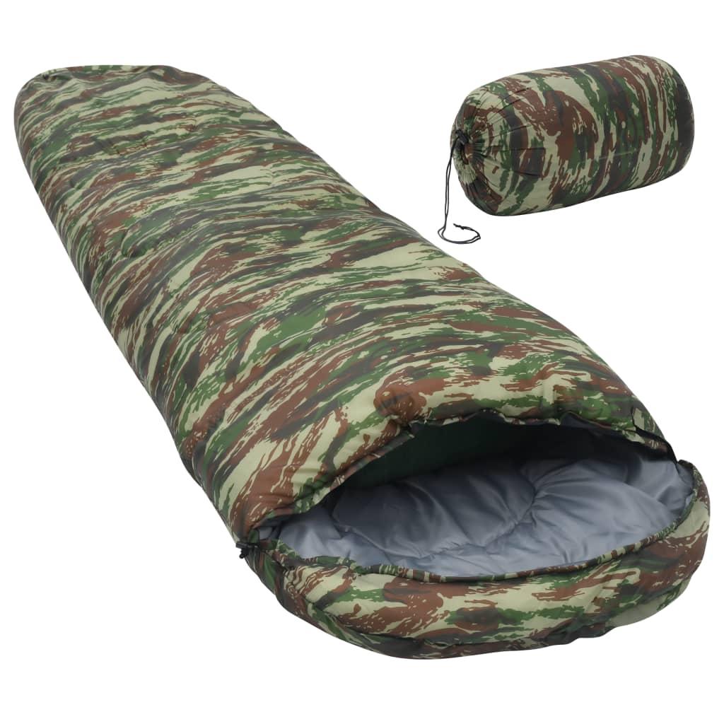 vidaXL sovepose 1400 g 5 °C camouflage