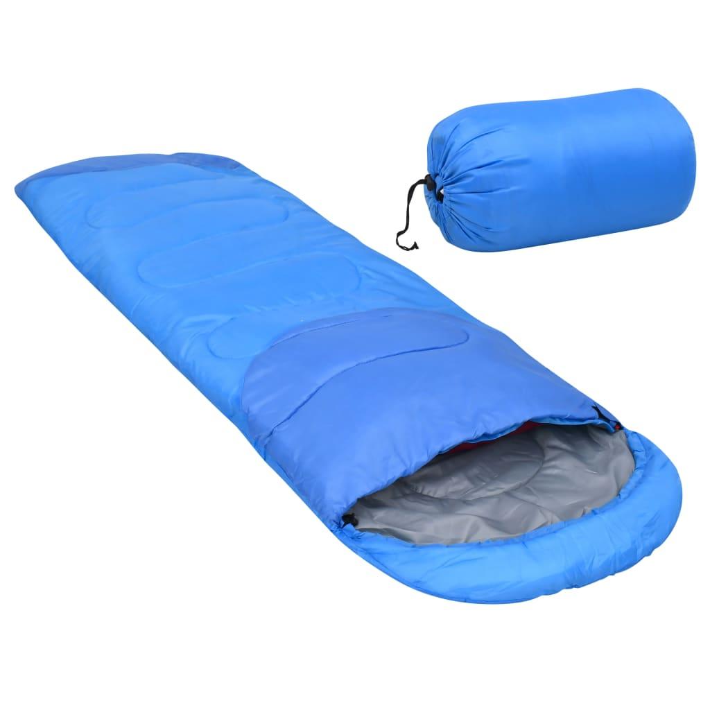 vidaXL sovepose 1000 g 10 °C blå