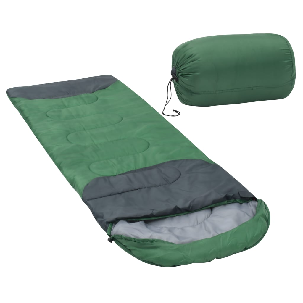 vidaXL sovepose 1000 g 10 °C grøn
