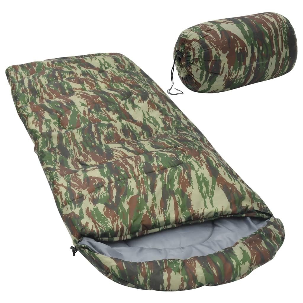 vidaXL sovepose 1000 g 10 °C camouflage