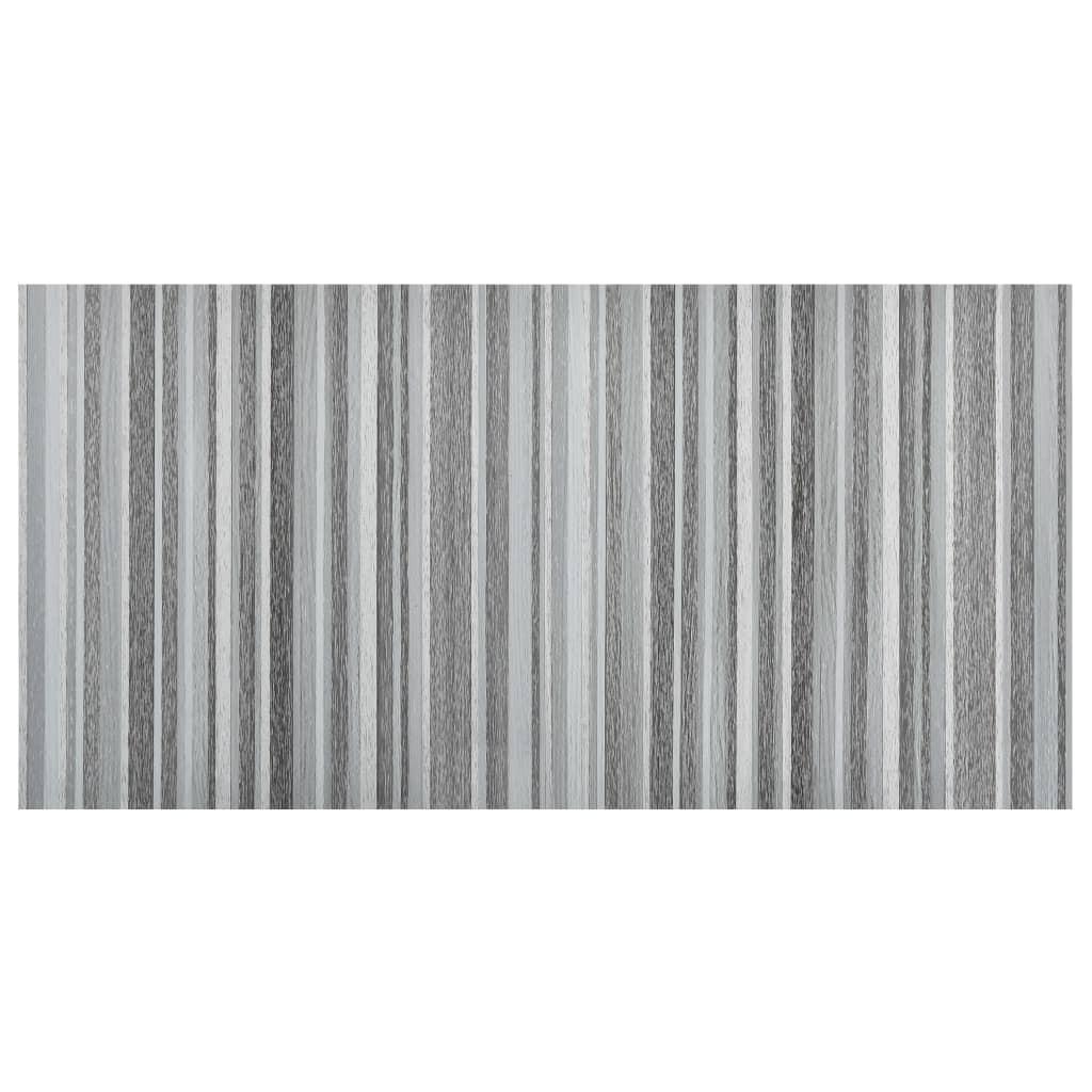 vidaXL Vloerplanken zelfklevend 55 st 5,11 m² PVC lichtgrijs