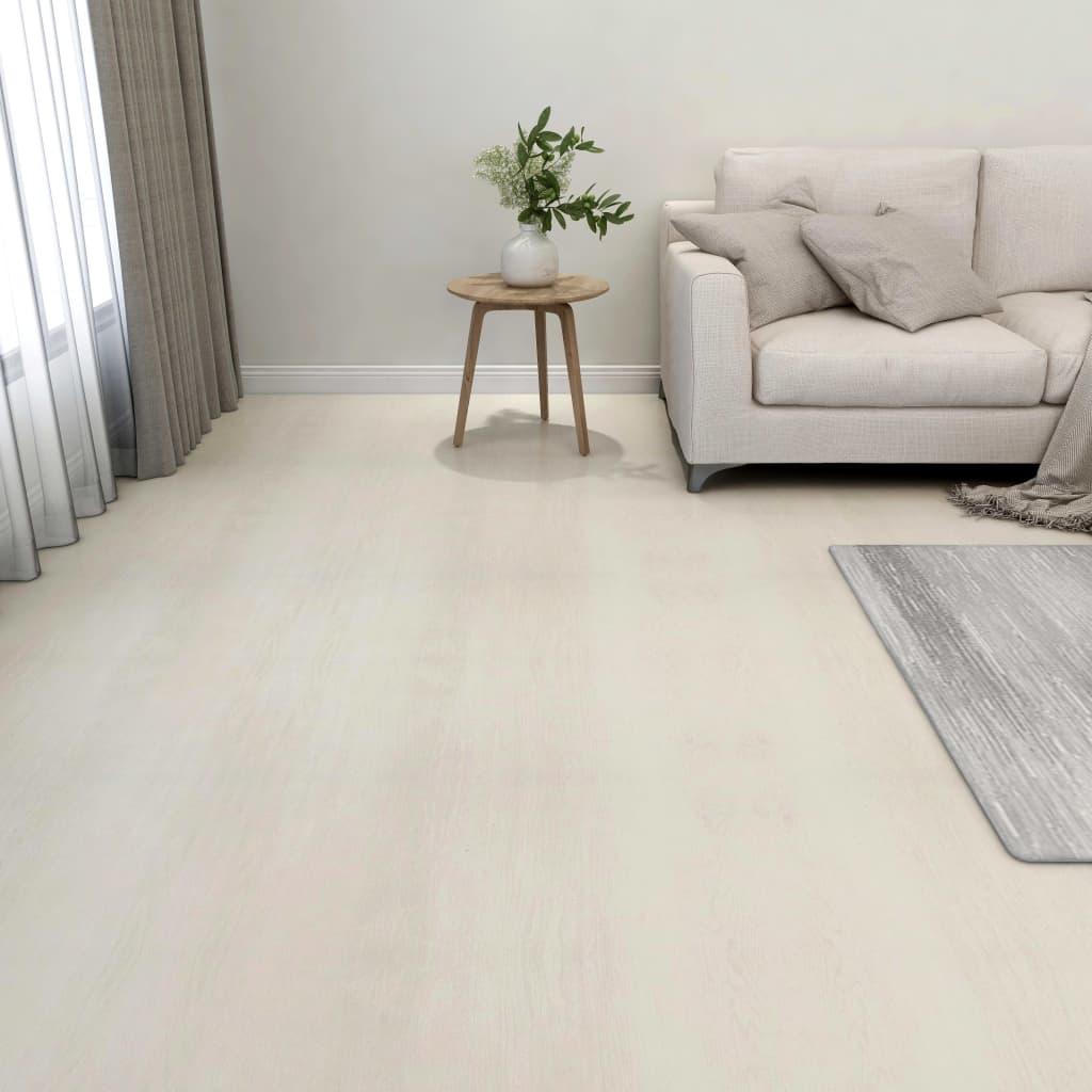 Samolepicí podlahové desky 55 ks PVC 5,11 m² béžové
