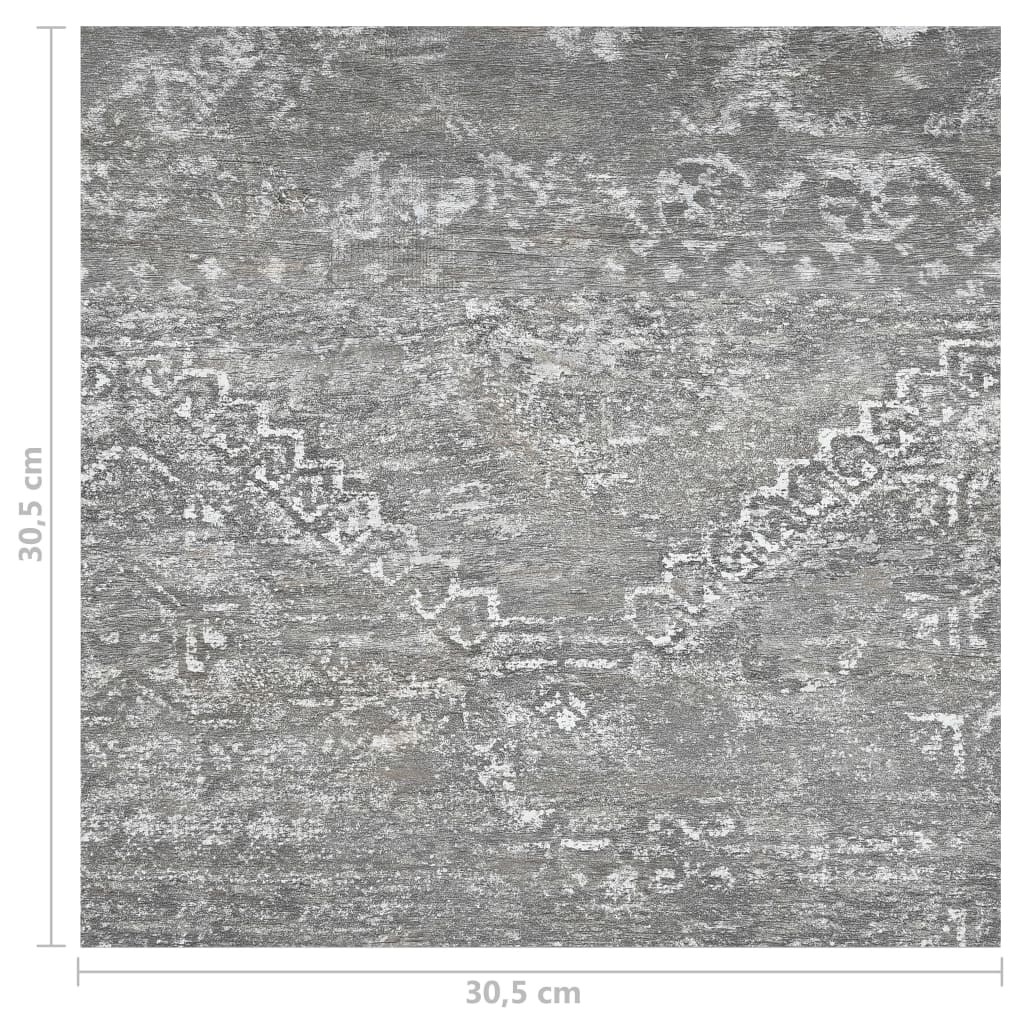 Vloerplanken zelfklevend 55 st 5,11 m² PVC betongrijs