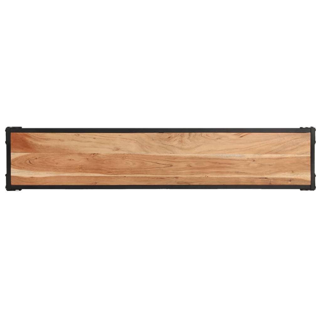 Tv-meubel 150x30x40 cm massief acaciahout