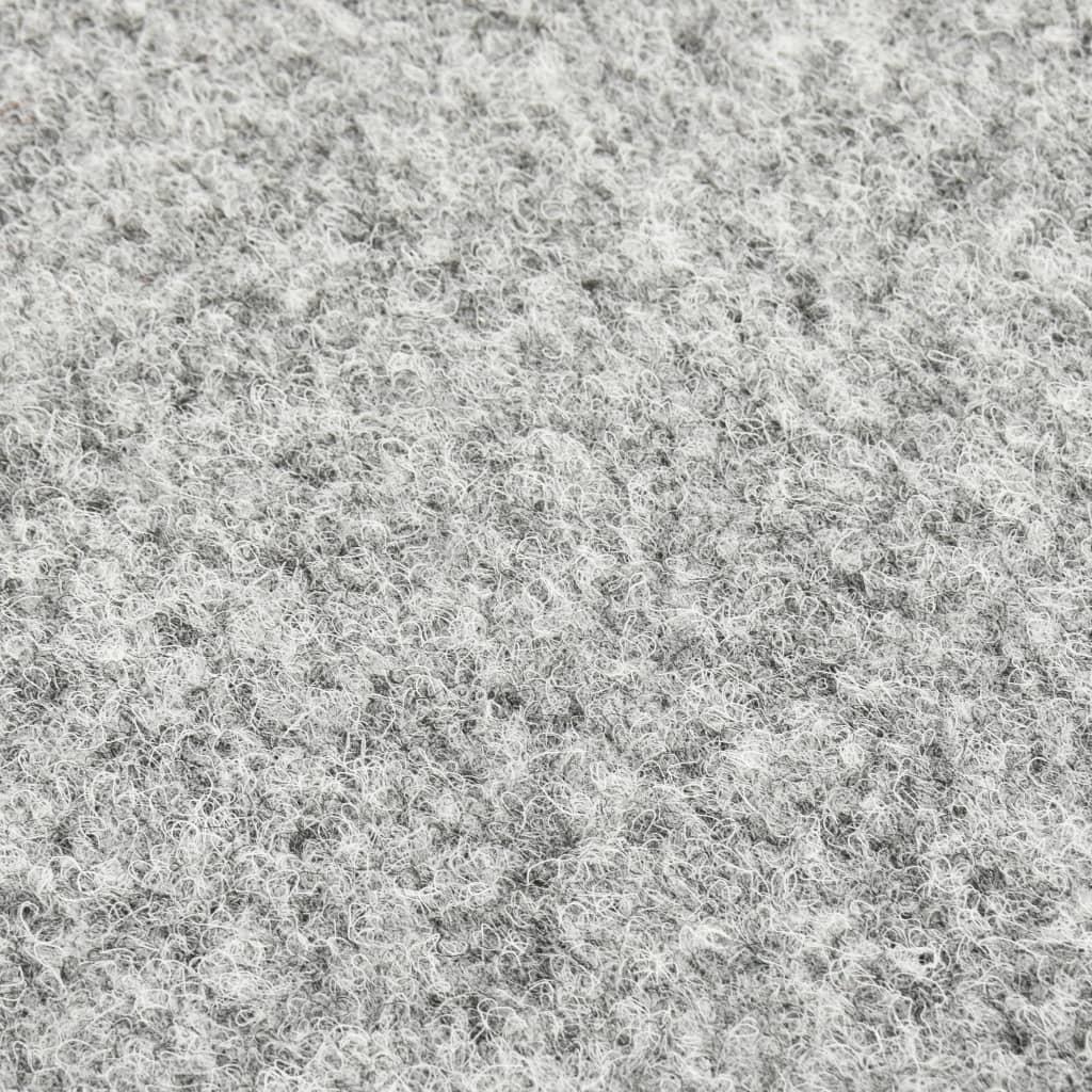 vidaXL Kunstgras met noppen 4x1 m grijs