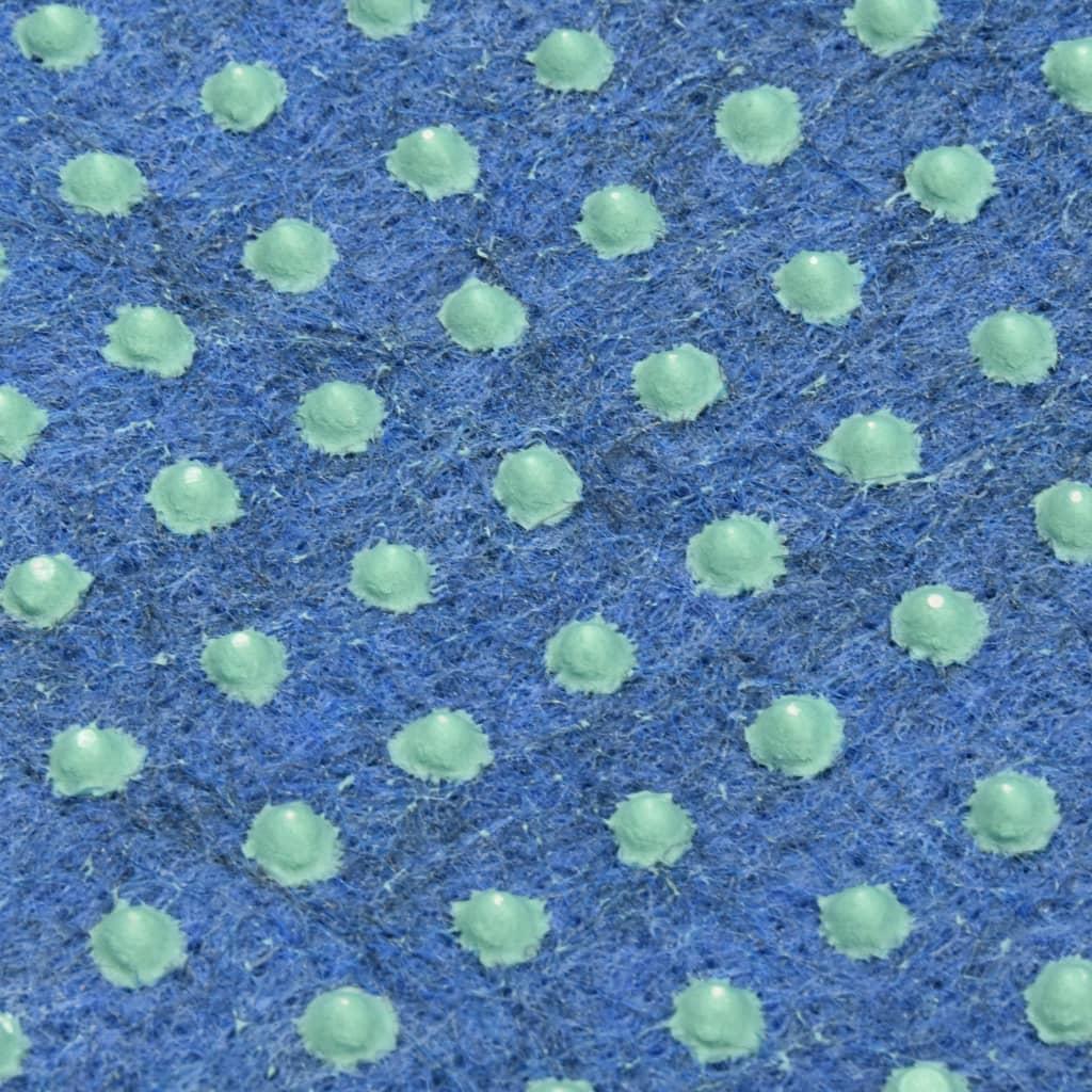 vidaXL Kunstgras met noppen 10x1,33 m blauw