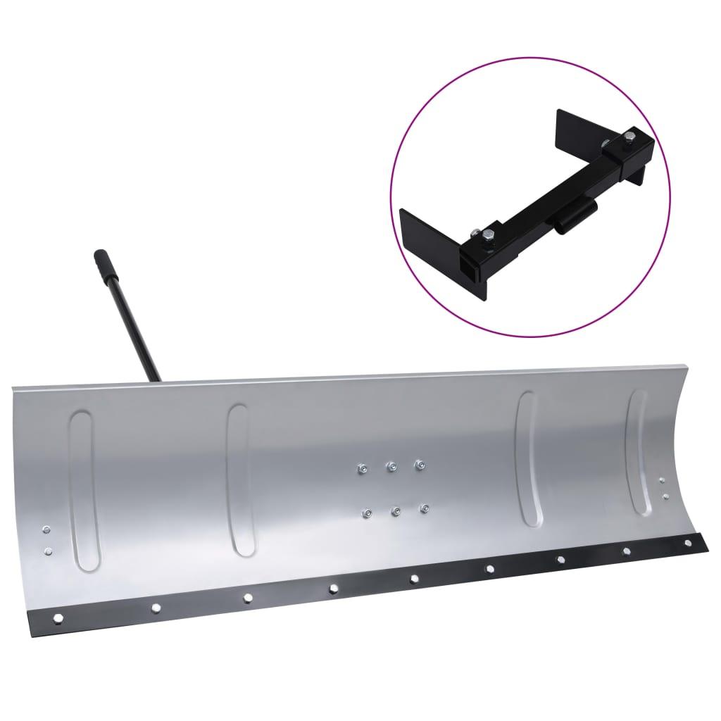 vidaXL Plug de zăpadă pentru mașina tuns iarbă cu adaptor, 150 cm vidaxl.ro