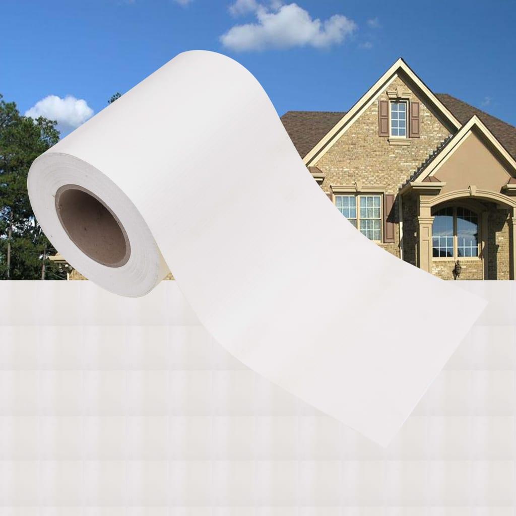 Zahradní stínící plotová fólie PVC 35 x 0,19 bílá