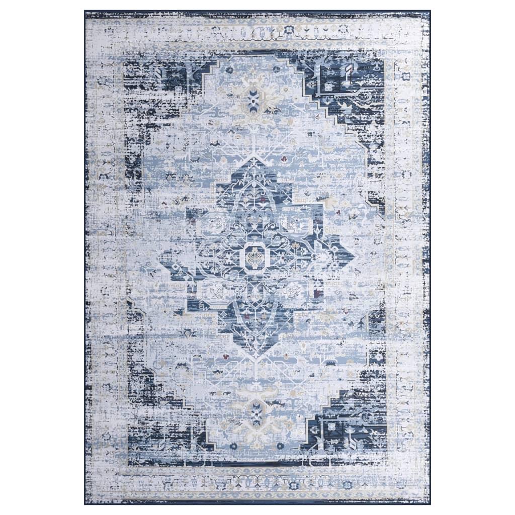 vidaXL Covor cu imprimeu, multicolor, 80 x 150 cm, material textil poza vidaxl.ro