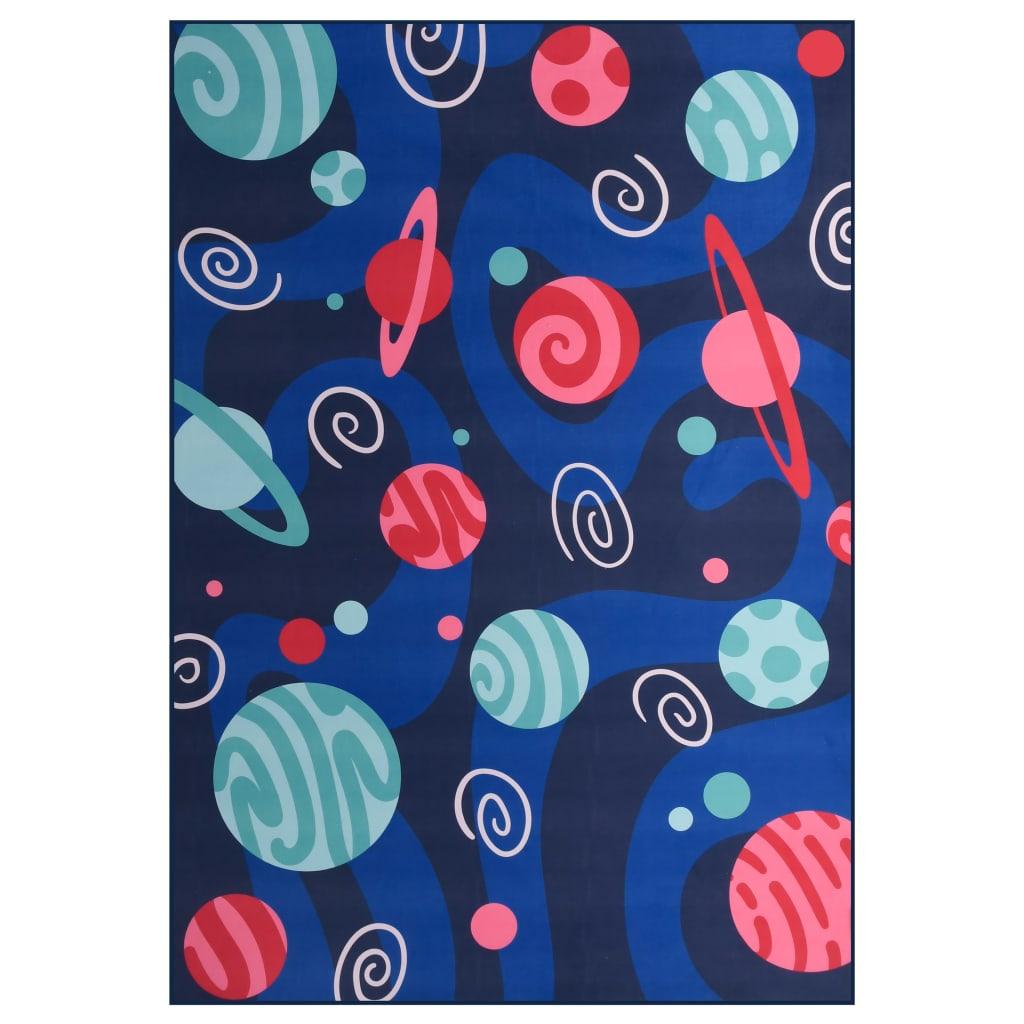 vidaXL Covor cu imprimeu, multicolor, 160 x 230 cm, material textil poza 2021 vidaXL