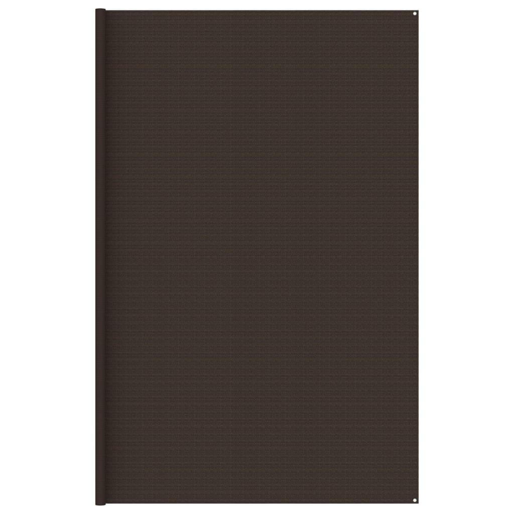 Koberec do stanu 400 x 400 cm hnědý